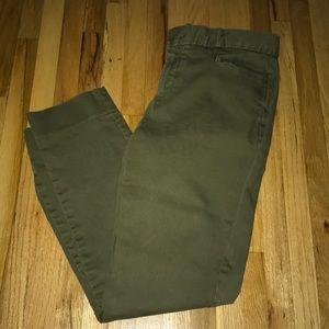 Banana Republic women's pants! Olive green!